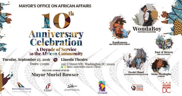 MOAA's 10th Anniversary Soirée