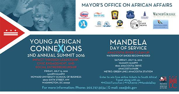 2nd Annual Young African and Mandela Day of Service