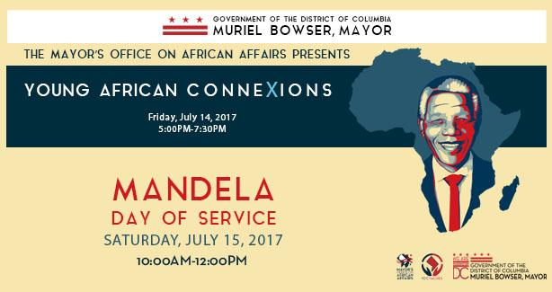 MOAA's Third Annual Young African ConneXions Summit (YAX) and Mandela Day of Service