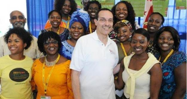 Mayor Gray with others