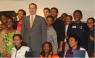 Mayor Gray with District youth