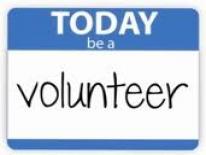 Picture of volunteer badge