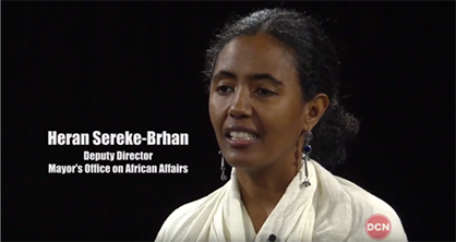 Heran Sereke-Brhan, Ph. D., Deputy Director of the Mayor's Office on African Affairs