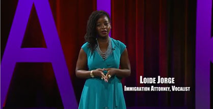 Loide Jorge, Esq., Immigration Attorney and Jazz Vocalist