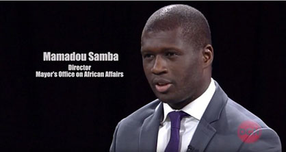 Mamadou Samba, Director, Mayor's Office on African Affairs